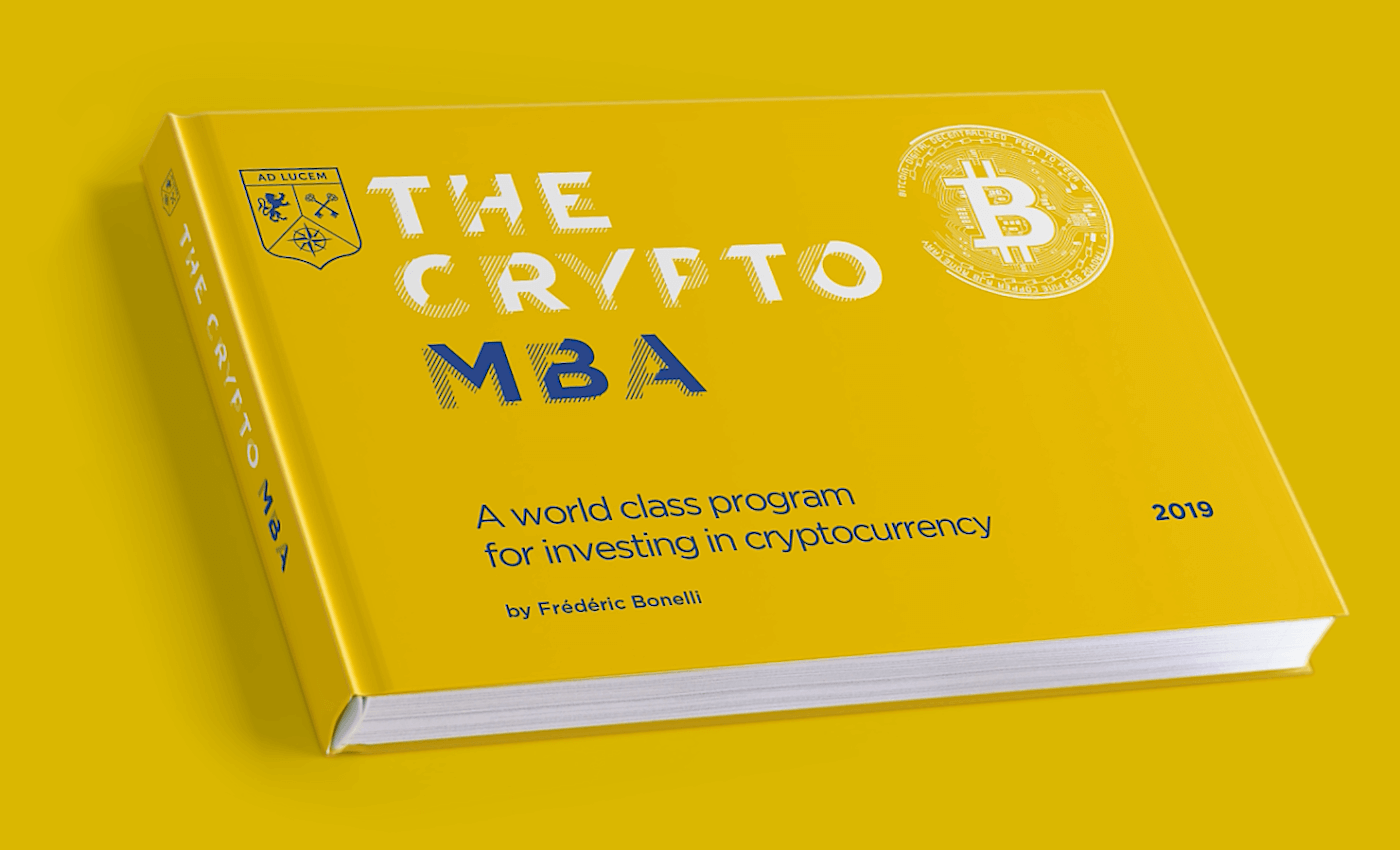 The crypto mba cover